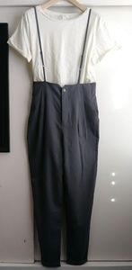I LOVE H81 Trousers with suspenders